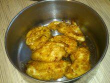 Fileciki z kurczaka a la nuggetsy