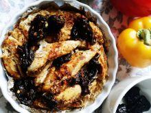 Fileciki z kurczaka ze śliwkami