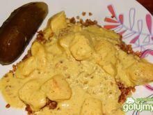 Filet drobiowy w sosie musztardowym