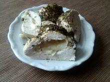 Filet drobiowy w ziołach prowansalskich z serem