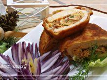 Filet drobiowy z pieczoną perliczką i serem