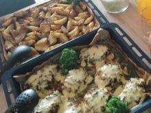 Filet drobiowy zapiekany
