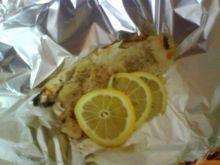 Filet rybny pieczony w folii