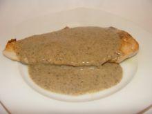 Filet w grzybowym kremowym sosie