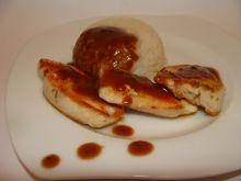Filet w sosie piernikowym