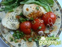 Filet w sosie z pomidorkami koktajlowymi