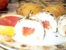 Filet z grejpfrutem na parze