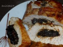 Filet z indyka pieczony ze śliwkami
