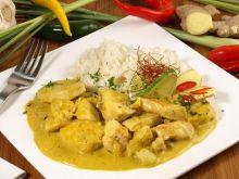 Filet z indyka w sosie curry