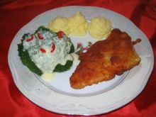 Filet z indyka z ziemniakami i brokuly