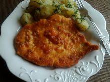 Filet z kurczaka duszony w sosie pomidorowym