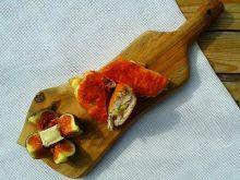 Filet z kurczaka faszerowany figą i camembertem