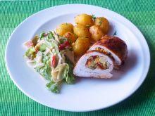 Filet z kurczaka nadziewany warzywami