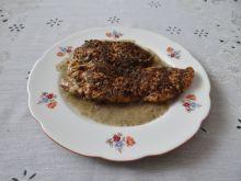 Filet z kurczaka w mące konopnej