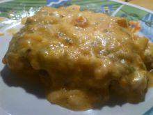 Filet z kurczaka w paprykowo - śmietanowym sosie