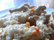 Filet z kurczaka w sosie śmietankowym