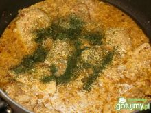 Filet z kurczaka w sosie śmietanowym 3