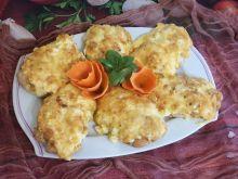 Filet z kurczaka z jajkiem