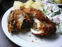 Filet z kurczaka z pieczarkami