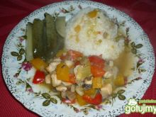 Filet z kurczaka z warzywami 3
