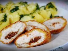 Filet z kurczaka z zapiekaną cebulką
