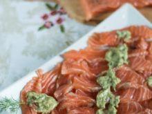 Filet z łososia marynowany