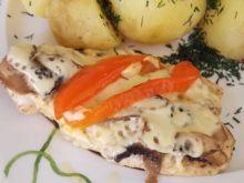 Filet z pieczoną papryką