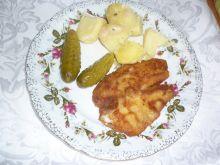 Filet z ryby smażony w panierce