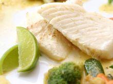 Filet z ryby w sosie z imbiru, limonki..