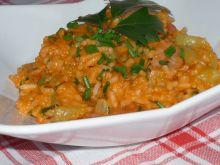 Filet z ryżem i warzywami