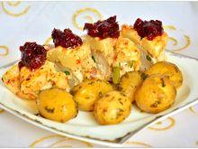 Filet zapiekany z serem i ananasem