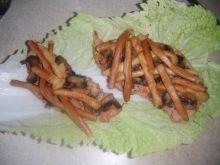 Filet zapiekany z serowym warkoczem