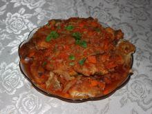 Filety drobiowe w occie