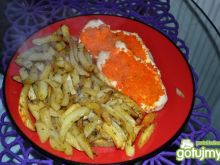 Filety  pod marchewkową pierzynką