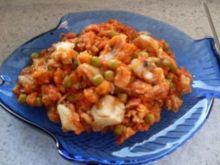 filety rybne w pomidorach i kukurydzy