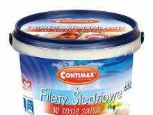 Filety śledziowe w sosie salsa Contimax
