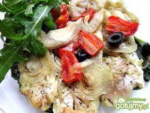 Filety z dorsza z warzywami w folii