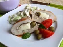 Filety z fetą i oliwkami