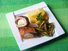 Filety z kurczaka faszerowane