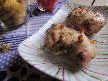 """Filety z kurczaka """"jeże"""" pieczone w rękawie"""