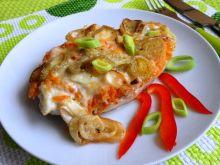 Filety z kurczaka pod warzywną pierzynką