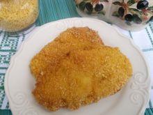 Filety z kurczaka w cieście i panierce z płatków