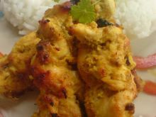 Filety z kurczaka w jogurcie z curry.