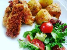 Filety z kurczaka w krakersowej panierce