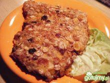 Filety z kurczaka w panierce z musli