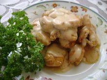 filety z kurczaka w sosie śmietanowym