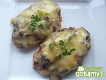 Filety z kurczaka z pieczarkami i serem