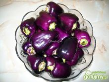 Fioletowa papryka marynowana