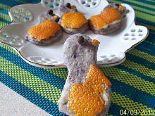 Fioletowe kurczaczki herbaciane