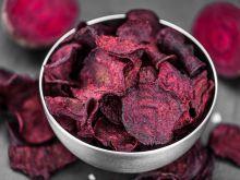 Przepis na chrupiące chipsy z buraka